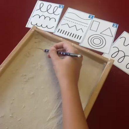 Tepsi Konuşan Eller (4-5 yaş)