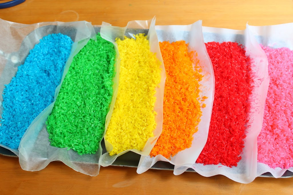 Duyusal tablo: Renkli Pirinç